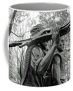 Three Soldiers In Vietnam Coffee Mug by Cora Wandel