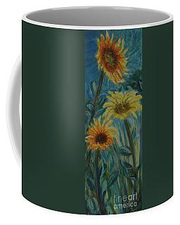 Three Sunflowers - Sold Coffee Mug