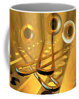 Three Trombones Coffee Mug