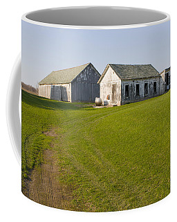 Three Weathered Farm Buildings Coffee Mug