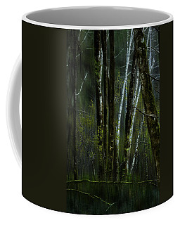 Coffee Mug featuring the photograph Through A Glass . . . Darkly by Belinda Greb