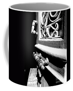 Through An Open Door Into Darkness Coffee Mug by Vicki Spindler