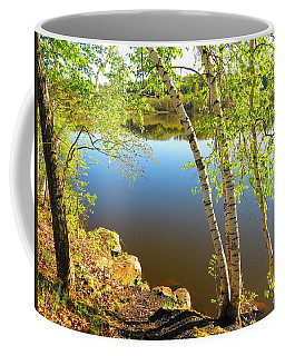 Through The Birch Coffee Mug