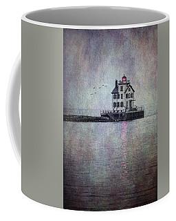 Through The Evening Mist Coffee Mug