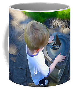 Coffee Mug featuring the photograph Through The Eyes Of A Child by Charlie and Norma Brock