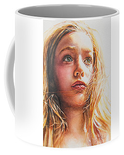 Through The Eyes Of A Child Coffee Mug by Tracy Male