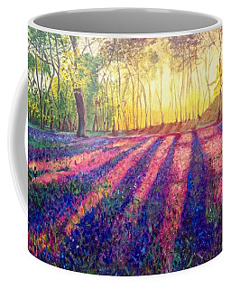 Coffee Mug featuring the painting Through The Light by Belinda Low