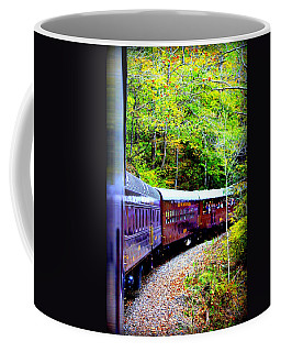 Through The Mountains Coffee Mug