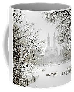 Through Winter Trees - Central Park - New York City Coffee Mug