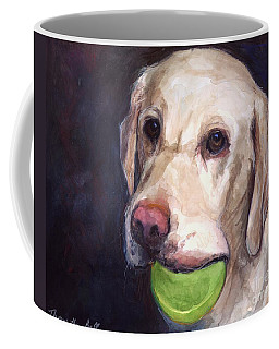 Throw The Ball Coffee Mug
