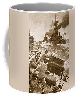 Throwing Overboard All Inflammable Luxuries When A Battleship Is Cleared For Action Coffee Mug