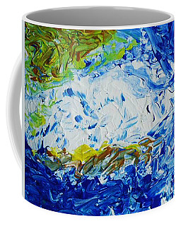 Thunder Of The Sea Coffee Mug