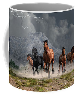 Thunder On The Plains Coffee Mug