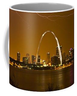 Thunderstorm Over The City Coffee Mug