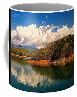 Thunderstorm Rolling Over The Smokies Coffee Mug