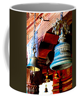 Tibetan Bells Coffee Mug by Greg Fortier