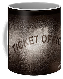 Ticket Office Window Coffee Mug