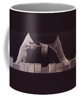 Tickling The Ivory Too Coffee Mug by Wil Golden