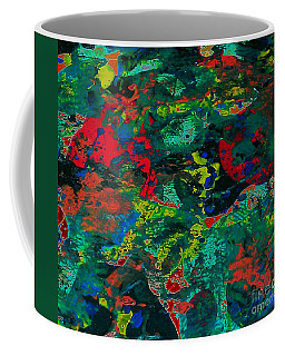 Coffee Mug featuring the painting Tide Pool by Jacqueline McReynolds