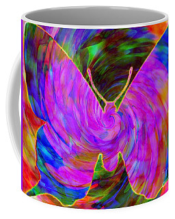 Tie-dye Butterfly Coffee Mug