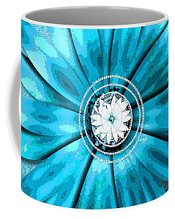 Tiffany Blue And Diamonds Too Coffee Mug