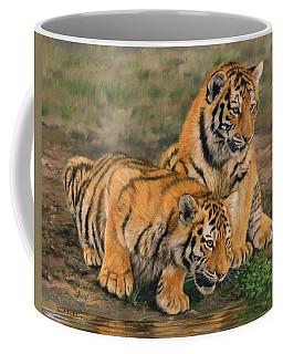 Tiger Cubs Coffee Mug