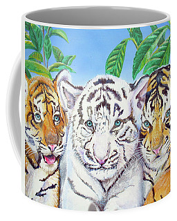 Tiger Cubs Coffee Mug