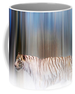 Tiger In The Mist Coffee Mug