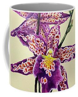 Tiger Orchid Coffee Mug