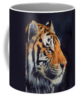 Tiger Profile Coffee Mug