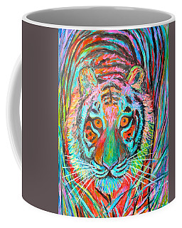 Tiger Stare Coffee Mug by Kendall Kessler