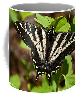 Tiger Swallowtail Butterfly Coffee Mug by Jeff Goulden
