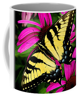 Coffee Mug featuring the photograph Tiger Swallowtail by James C Thomas