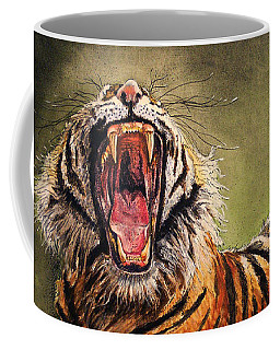 Tiger Yawn Coffee Mug