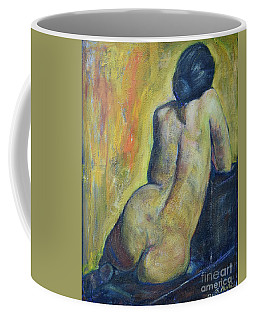 Tiina - Back Of Nude Woman Coffee Mug