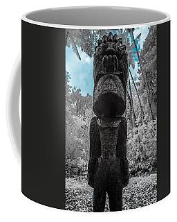Tiki Man In Infrared Coffee Mug