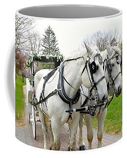 Coffee Mug featuring the photograph Tillie And Bruce by Jeannie Rhode