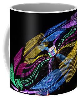 Coffee Mug featuring the photograph Tilt A Whirl by Steven Bateson