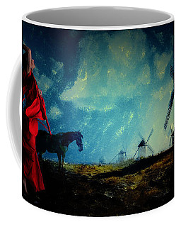 Tilting At Windmills Coffee Mug