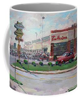 Tim Hortons By Niagara Falls Blvd Where I Have My Coffee Coffee Mug