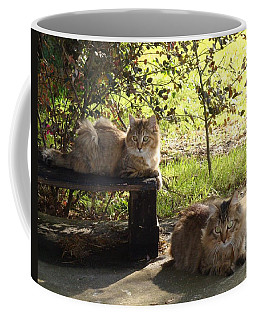Timber And Cougar Coffee Mug