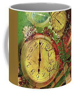 Time 6 Coffee Mug by Claudia Ellis