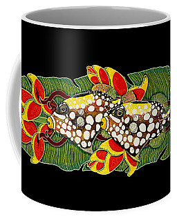 Coffee Mug featuring the painting Time For Dinner by Debbie Chamberlin