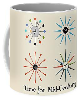 Time For Mid-century Coffee Mug