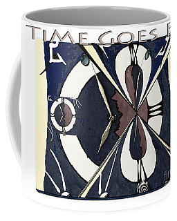 Time Goes By Coffee Mug