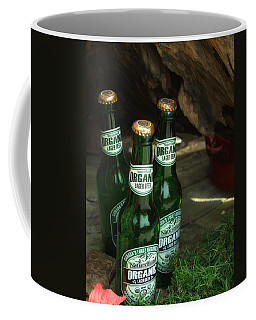 Coffee Mug featuring the photograph Time In Bottles by Rachel Mirror