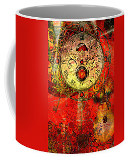 Time Passes Coffee Mug by Ally  White