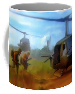 Time Sacrificed II Vietnam Veterans  Coffee Mug