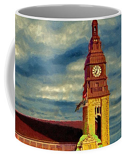 Time To Go Coffee Mug by Jeff Kolker