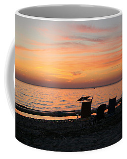 Coffee Mug featuring the photograph Time To Reflect by Karen Silvestri